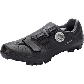 Shimano SH-XC5 Fahrradschuhe Weit Herren schwarz